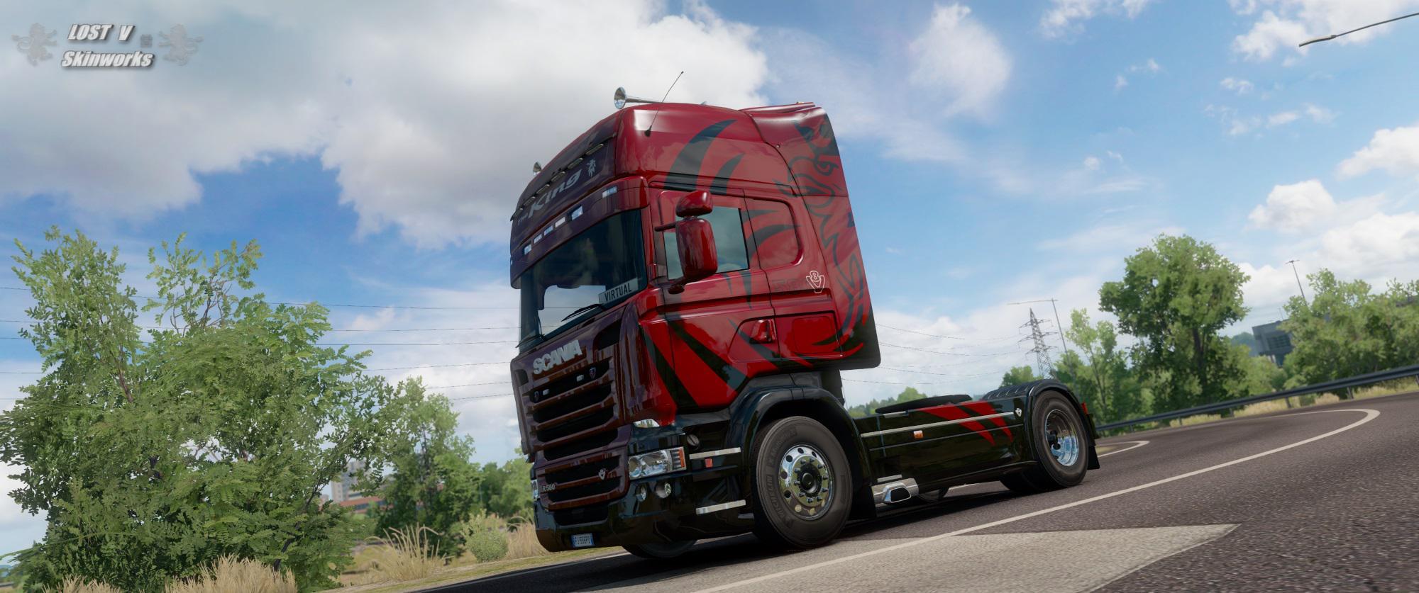 ETS2 - Scania King Edition V1.0 (1.36.x)