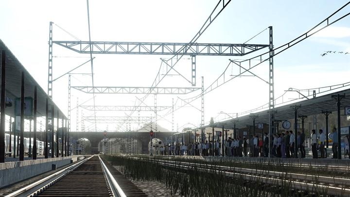 Transport Fever 2 - Renfe/Adif Tracks and Catenary