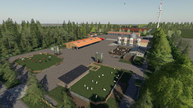 FS19 - NF Match 4X Multifruit Map V1.2