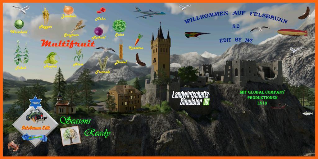 FS19 - Felsbrunn Map V5.0