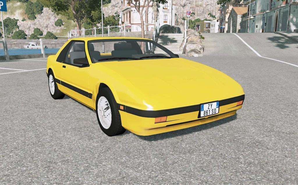 BeamNG - Soliad Fieri 1987 Car Mod