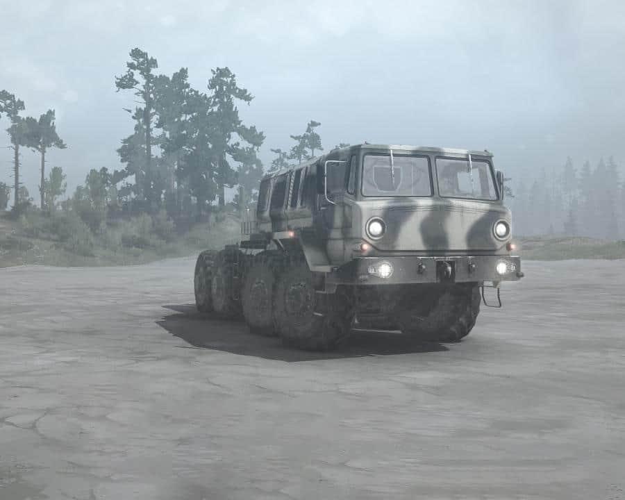Spintires:Mudrunner - ZiKZ-605R (Maz-537) Truck V1.0