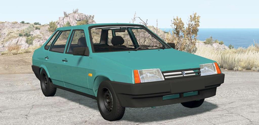BeamNG - Vaz 21099 Samara 1992 Car Mod