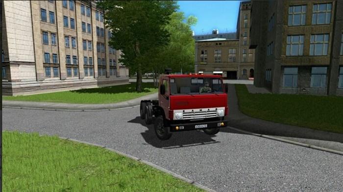 City Car Driving 1.5.9 – KamAZ-54112 Truck V1.1
