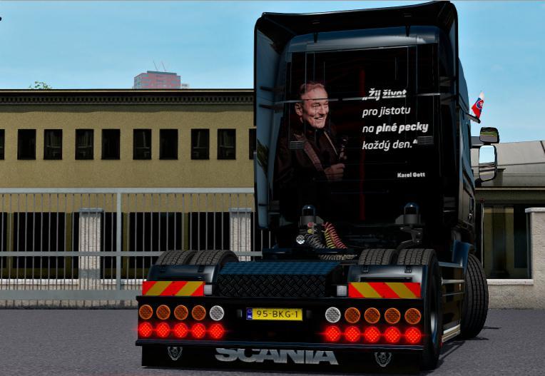 ETS2 - Skin for Scania RJL V1.0 (1.35.X)