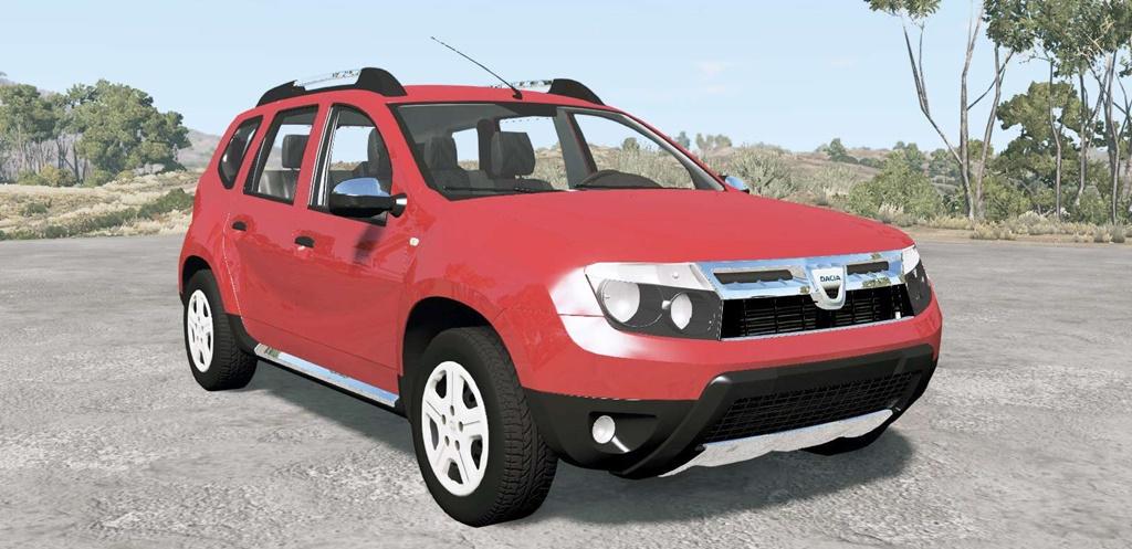BeamNG - Dacia Duster 2010 Car Mod