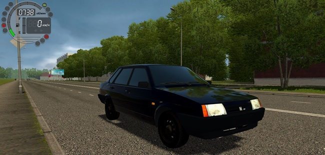 City Car Driving 1.5.9 - Vaz 21099 Oper Style