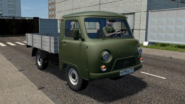 City Car Driving 1.5.9 – Uaz 3303 Truck