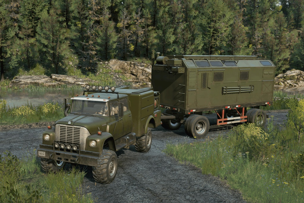SnowRunner - International Loadstar Military V1