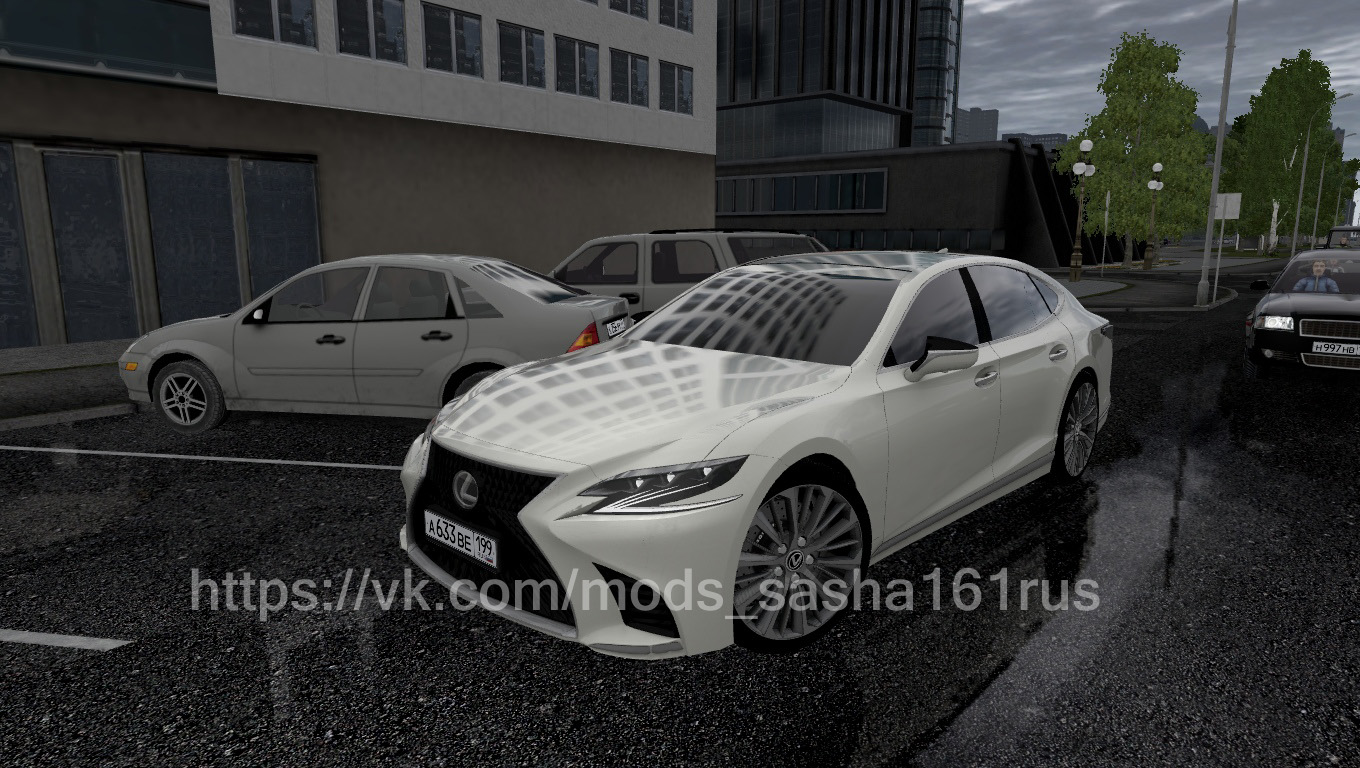 City Car Driving 1.5.8 - Lexus Ls500