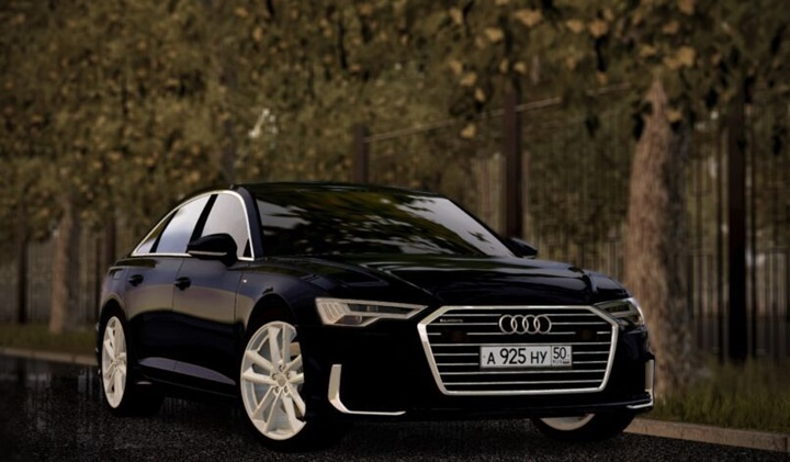 City Car Driving 1.5.9 - Audi A6 Sedan 55 TSFI 2019