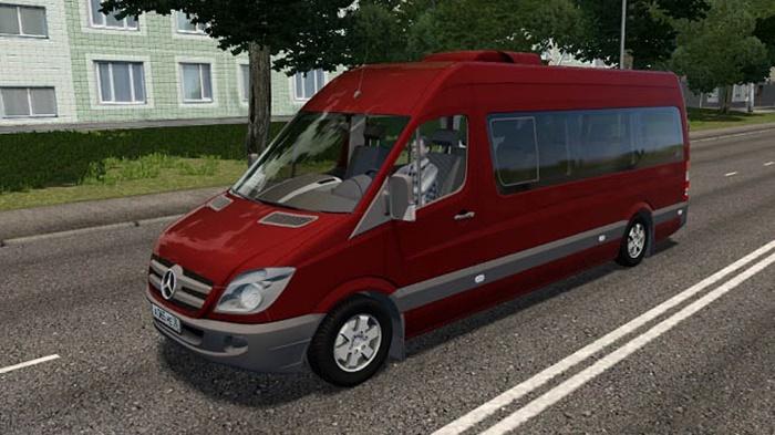 City Car Driving 1.5.9 – Mercedes-Benz Sprinter 313 CDI