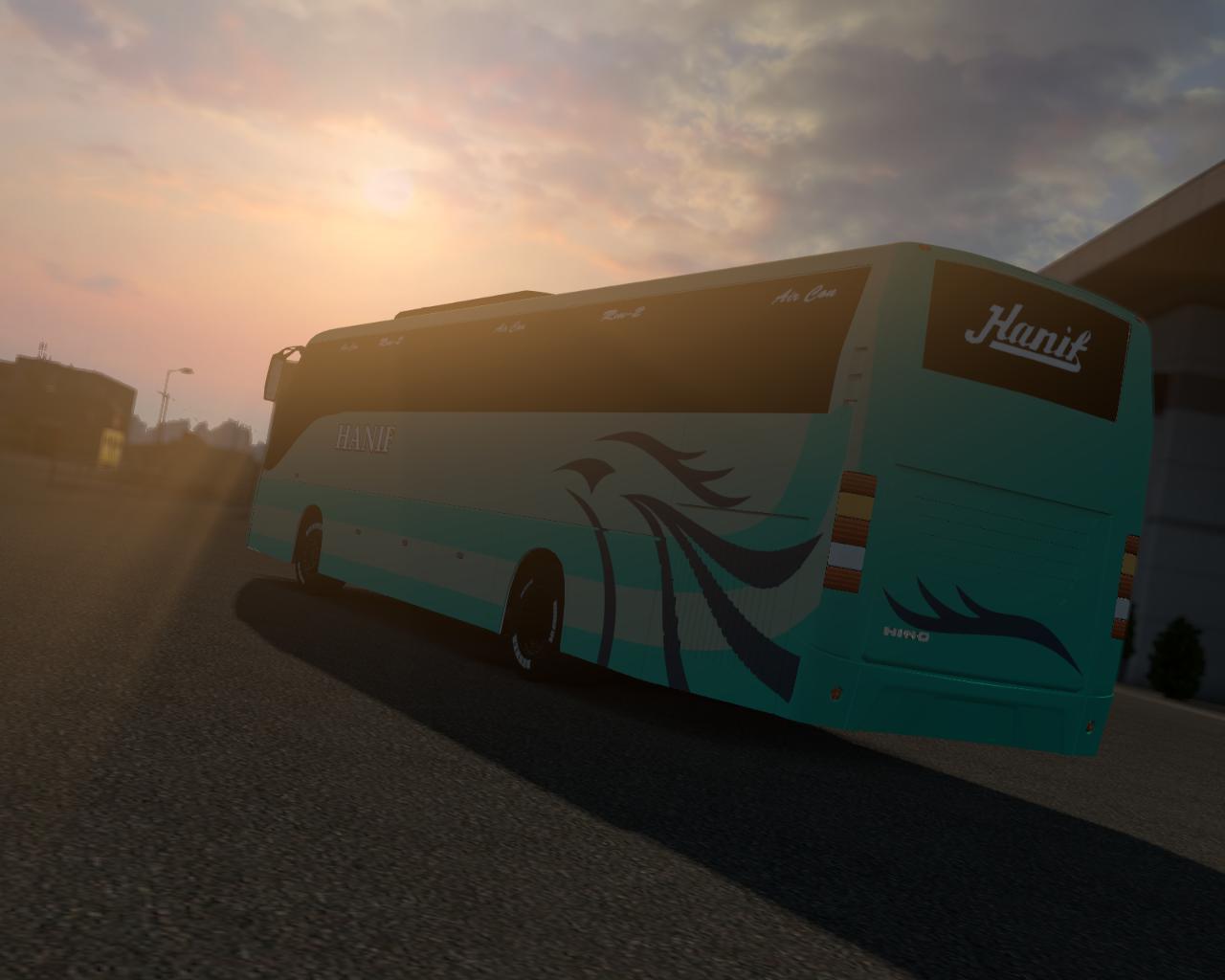 ETS2 - Hino RM2 Bus Mod (1.36 - 1.37)