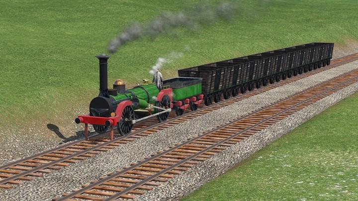 Transport Fever 2 - A. Horlock & Co. 0-4-0 Fire Queen