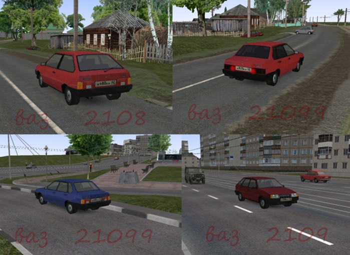 Omsi 2 – Vaz 2108, 2109, 21099 Ai Traffic Mod
