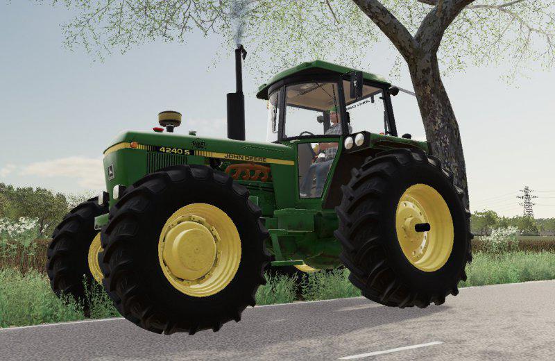 FS19 - John Deere 4240 S Tractor V1.0