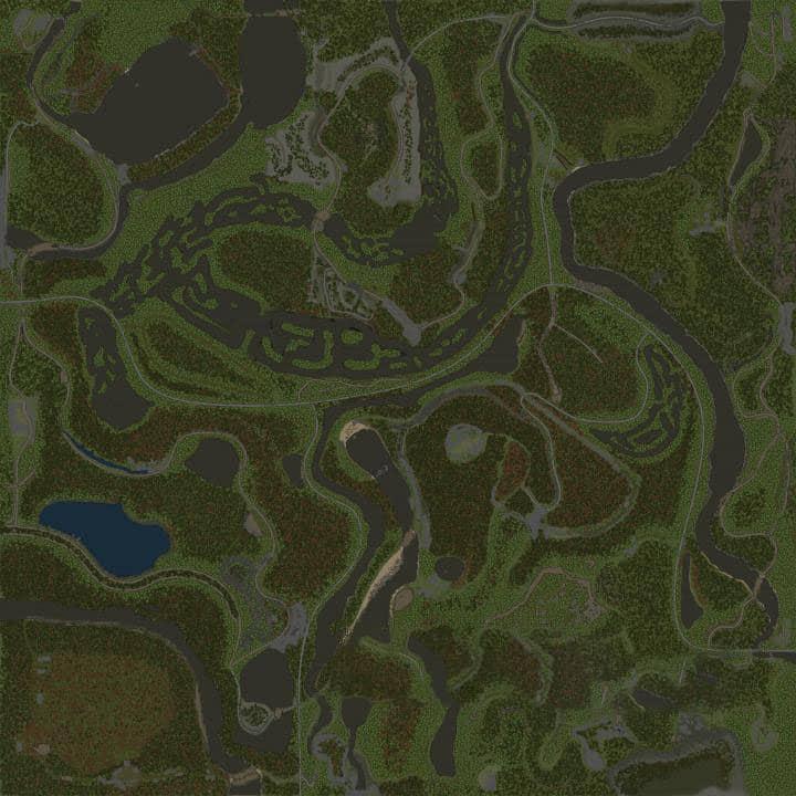 Spintires:Mudrunner - Abandoned Delyana Map V14.08.19