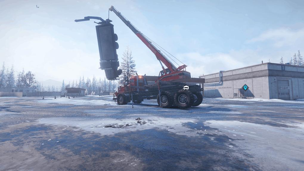 SnowRunner - Crane Strength Mod V1.2