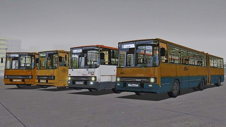 Omsi 2 – Ikarus 280.48 - 280.64 Bus