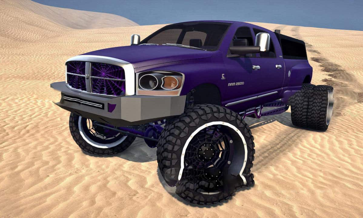 Spintires:Mudrunner - 2007 Sema Dodge Ram 2500 Dually (Collision Axles) V1.0