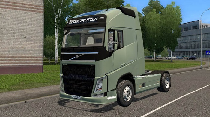 City Car Driving 1.5.9 - Volvo FH 2014 Truck
