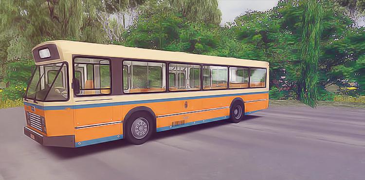 Omsi 2 – VanHool A120 Bus