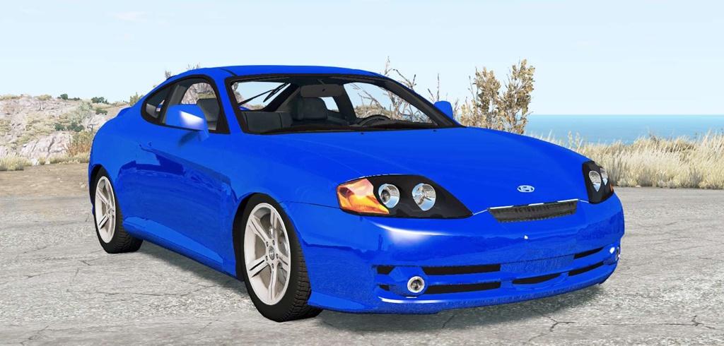 BeamNG - Hyundai Coupe (GK) 2002 Car