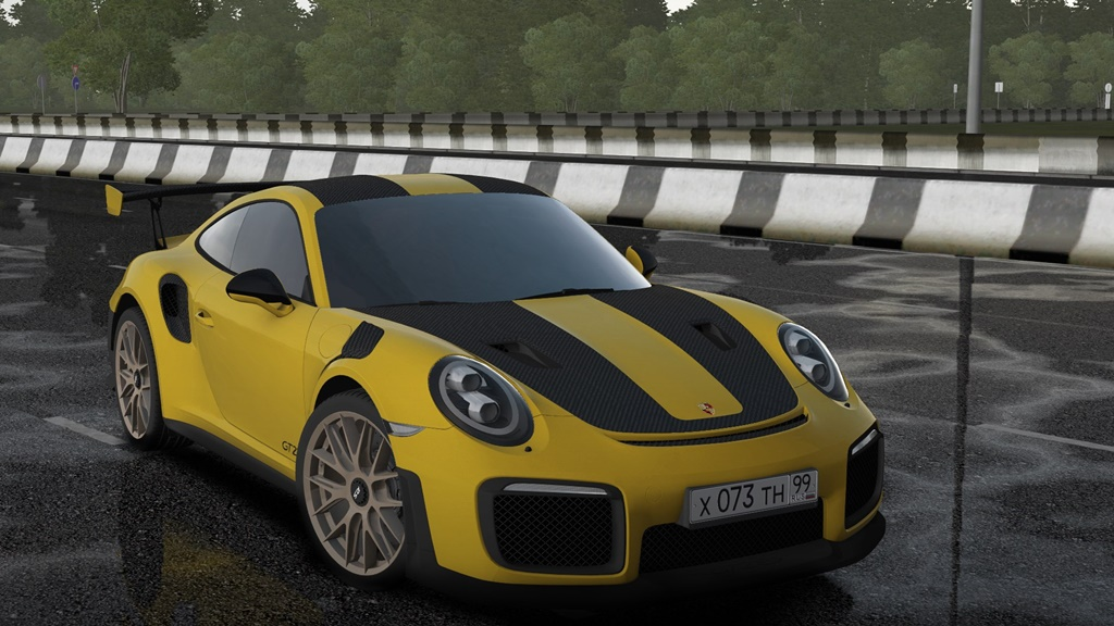 City Car Driving 1.5.8 - Porsche 911 GT2 RS 2018