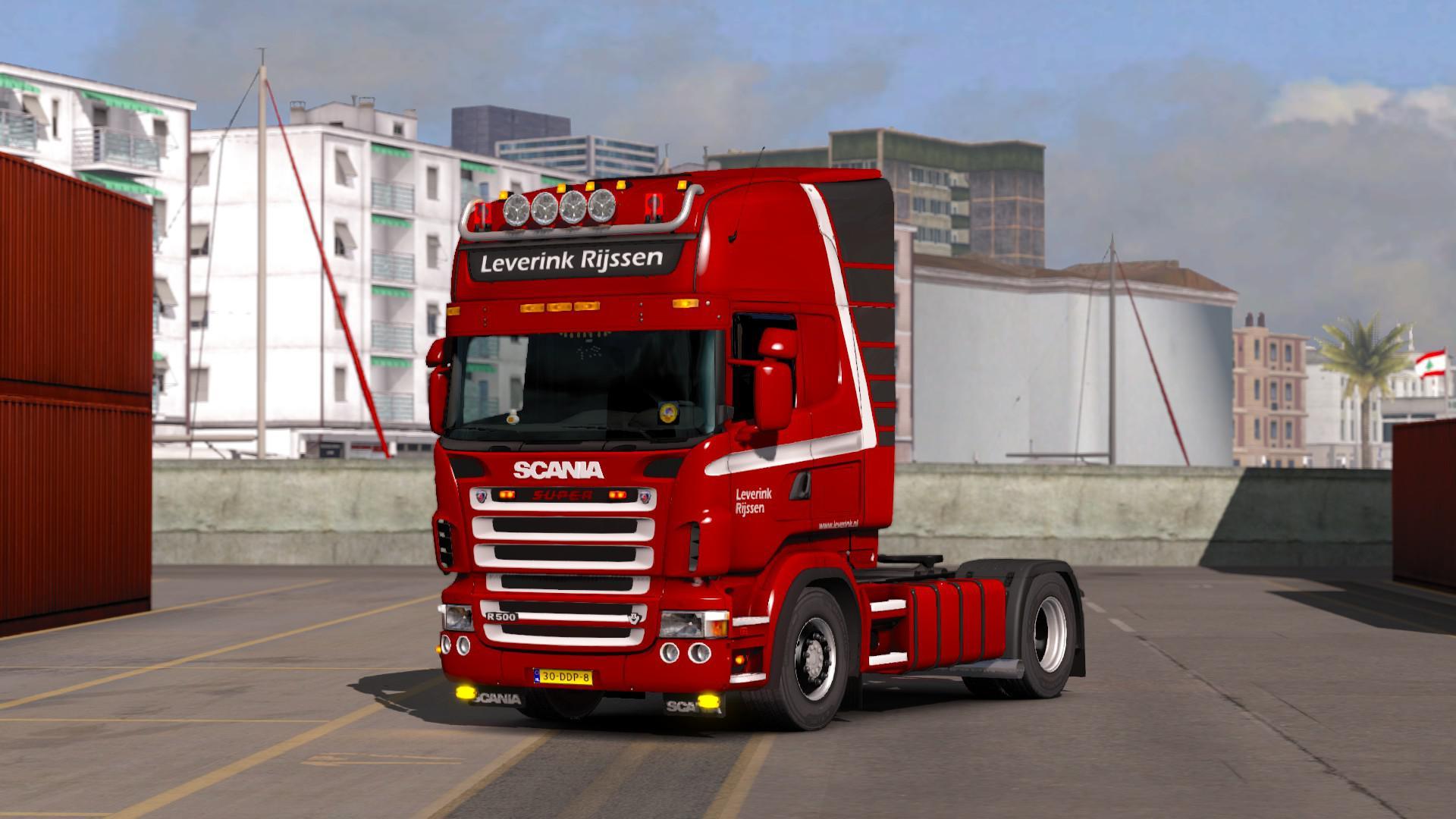 ETS2 - Scania RJL Leverink Rijssen V1.0 (1.35.X)
