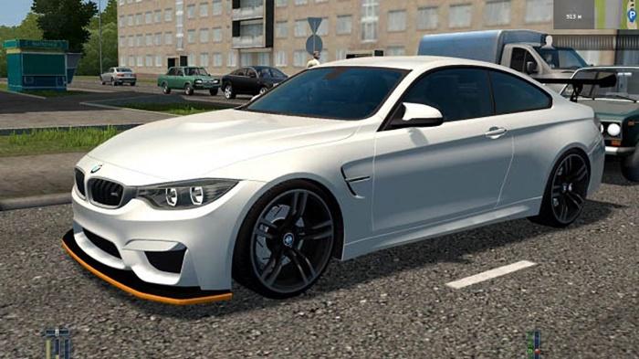 City Car Driving 1.5.9 – BMW M4 F82 Tuning (M4 GTS)
