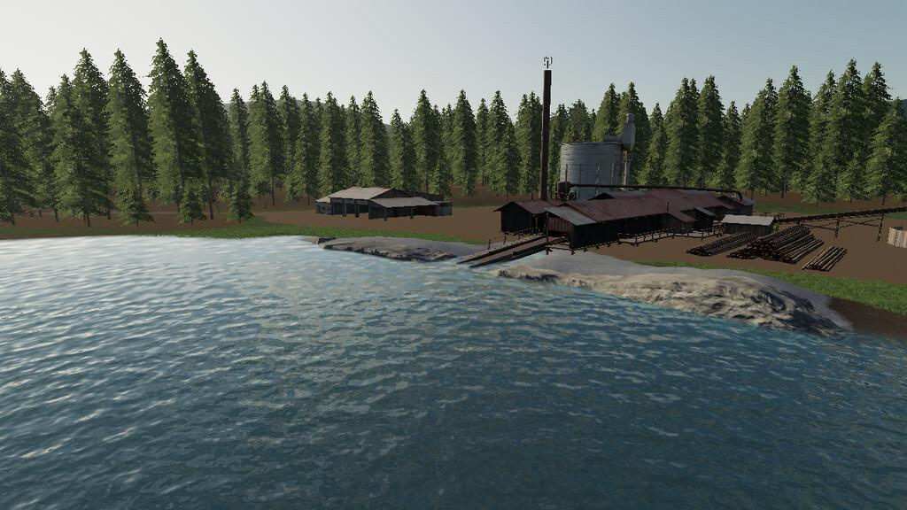 FS19 - Blue Mountain Valley Map V1.0