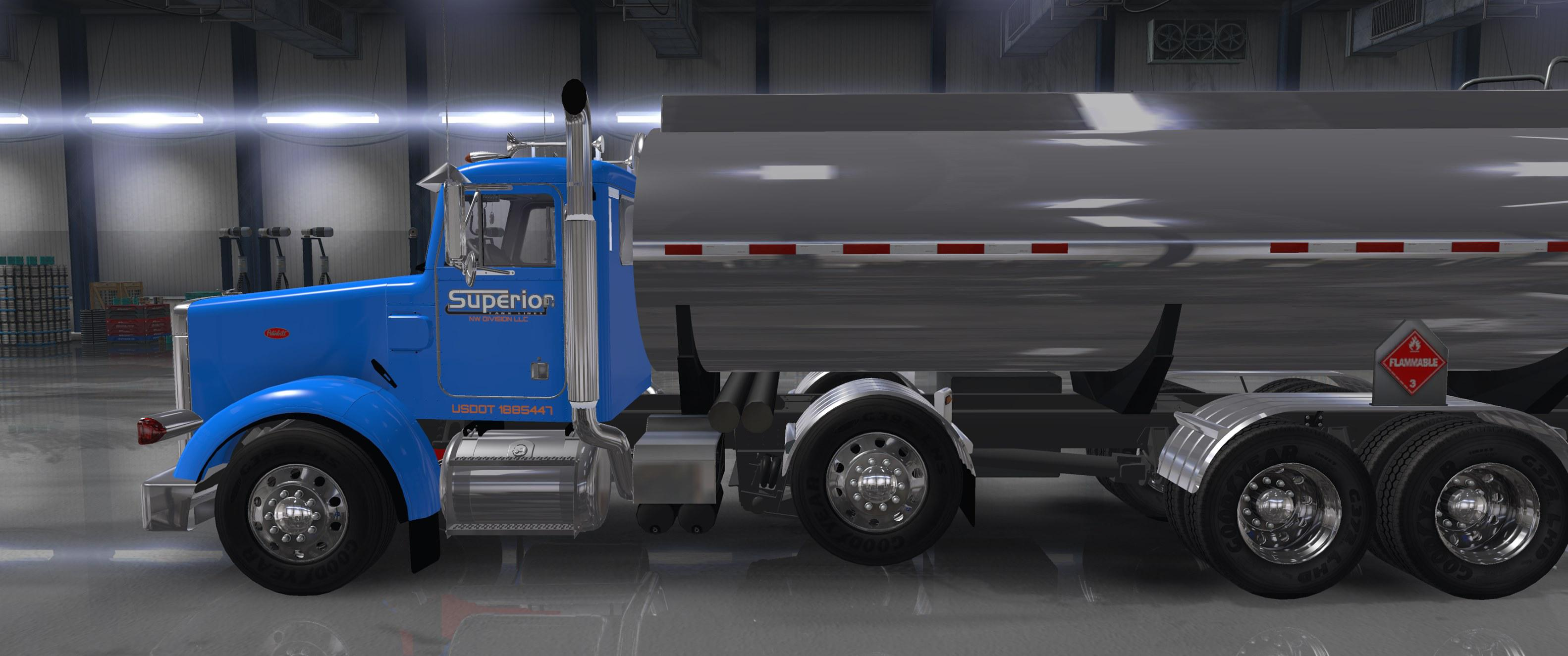 ATS - Heavy Truck And Trailer Add-On for Hfg Project 3xx (1.36.x)