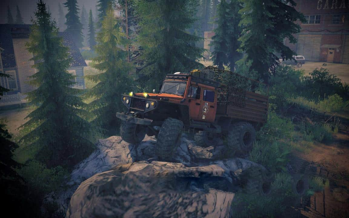 SpinTires:Mudrunner - Gaz-Siver (Zvm-39082) Truck V1.0