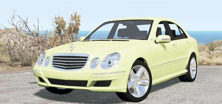 BeamNG – Mercedes-Benz E 280 (W211) 2007 V2.0