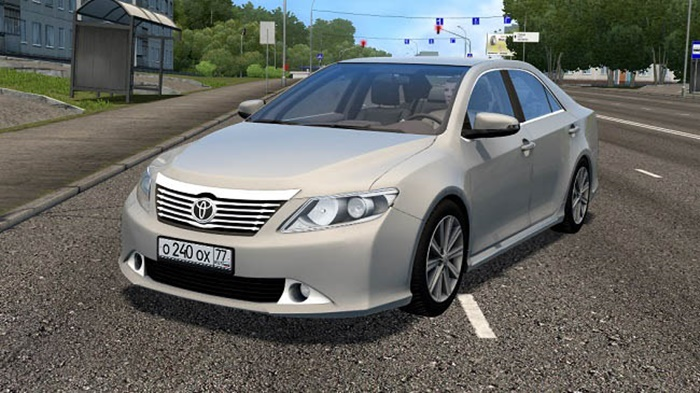 City Car Driving 1.5.9 – Toyota Camry V50 3.5L 2015