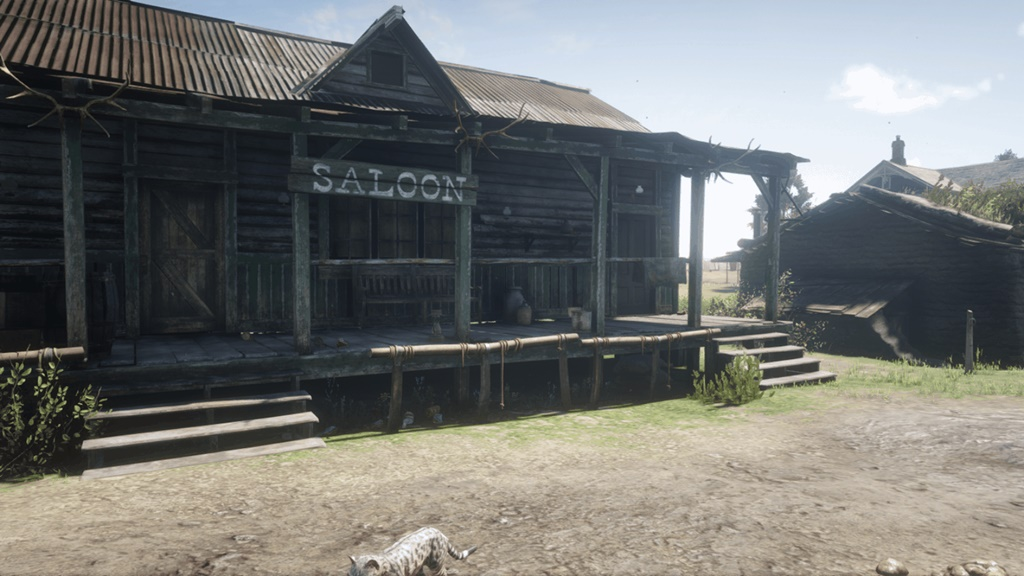 RDR2 - Emerald Ranch Saloon