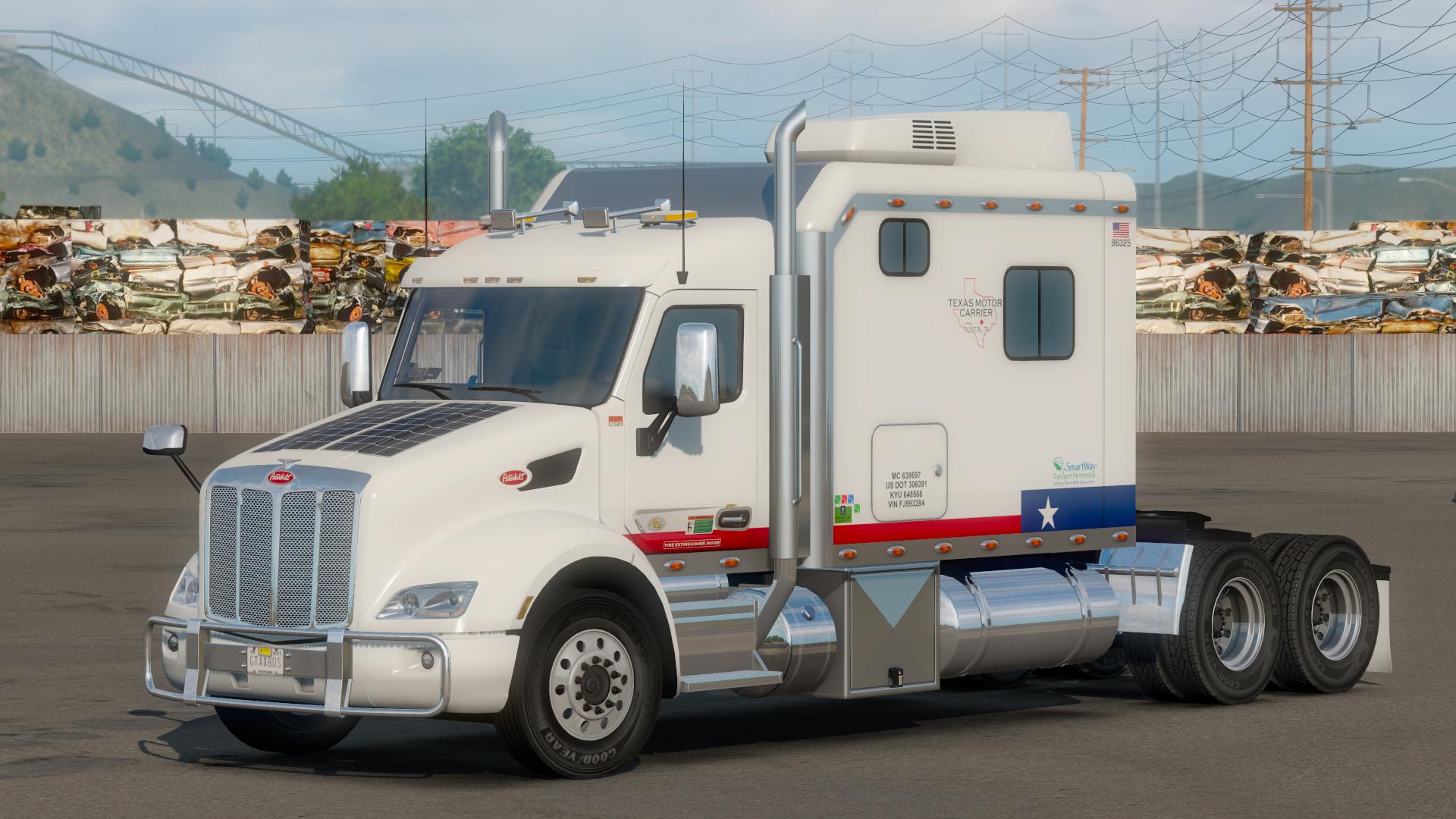 ATS - Peterbilt 579 with 120 Custom Sleeper (1.36.x)