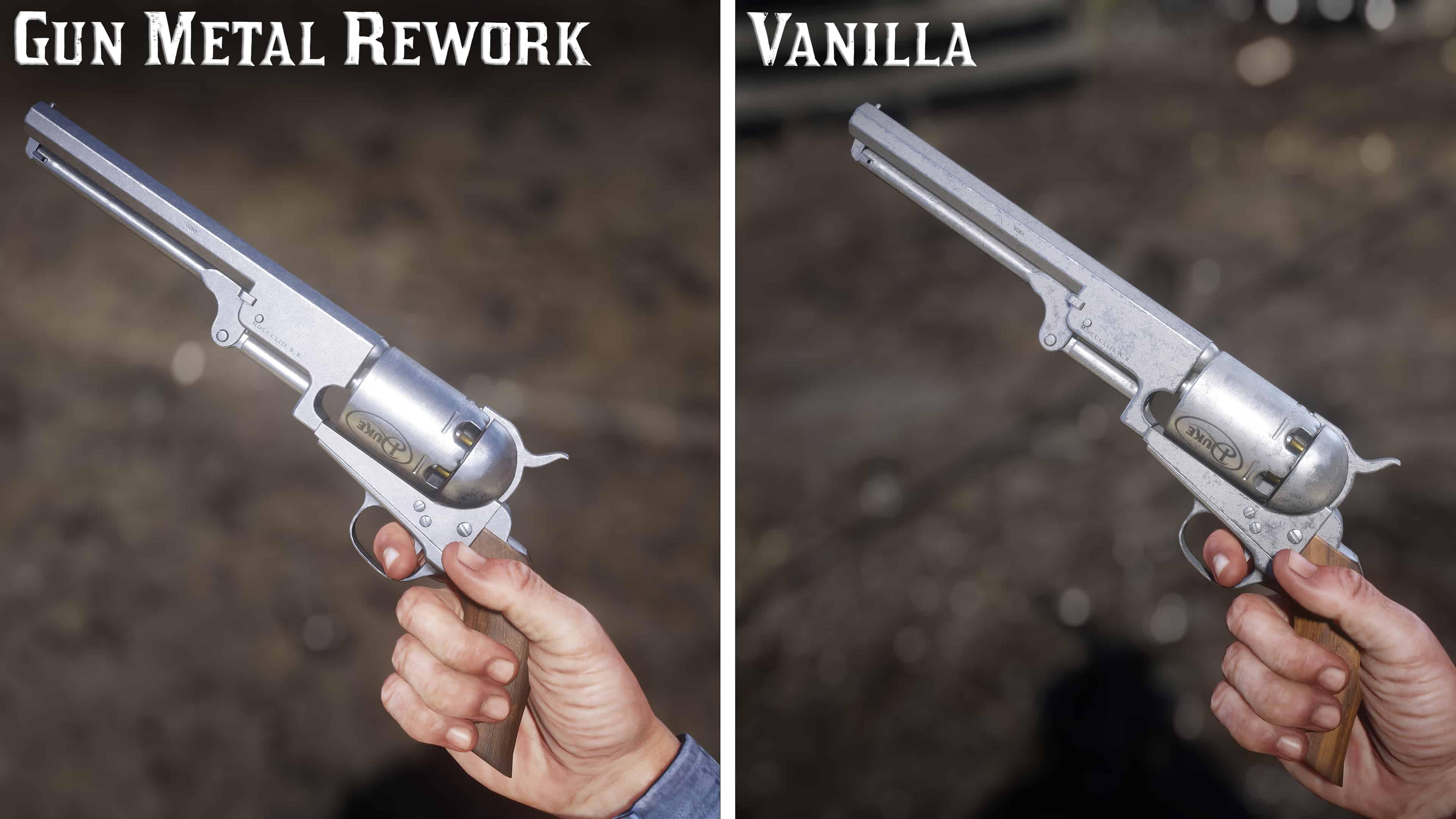 RDR2 - Gun Metal Rework