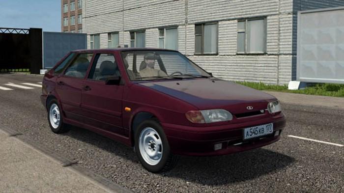 City Car Driving 1.5.9 - Vaz 2114 Lux Car
