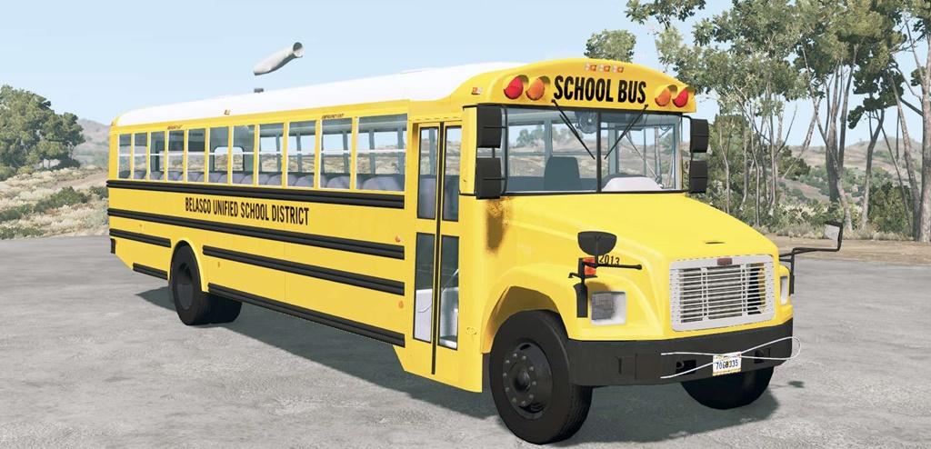 BeamNG - Freightliner FS-65 School Bus V1.02