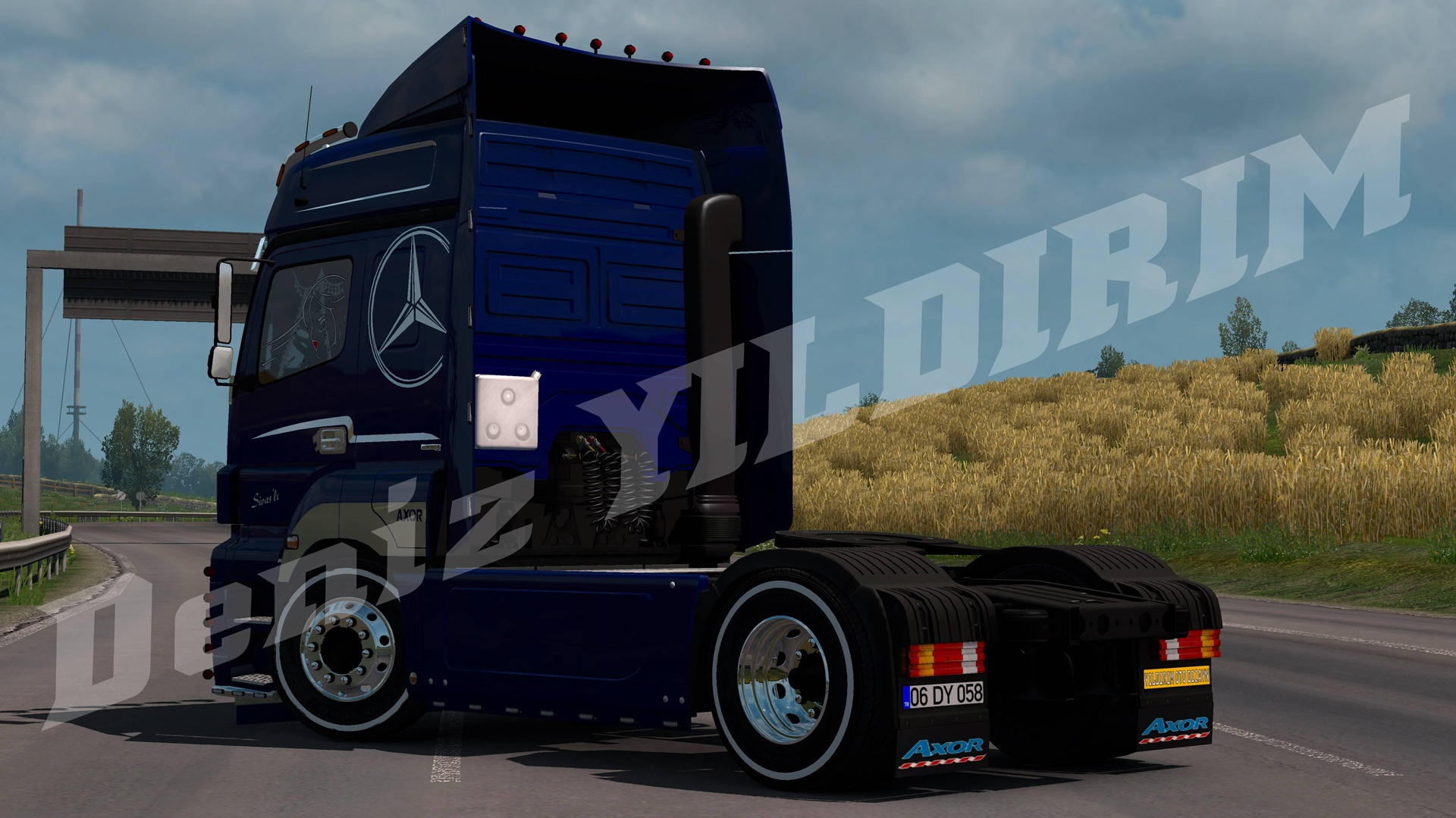 ETS2 - Mercedes Axor Truck (1.36.x)