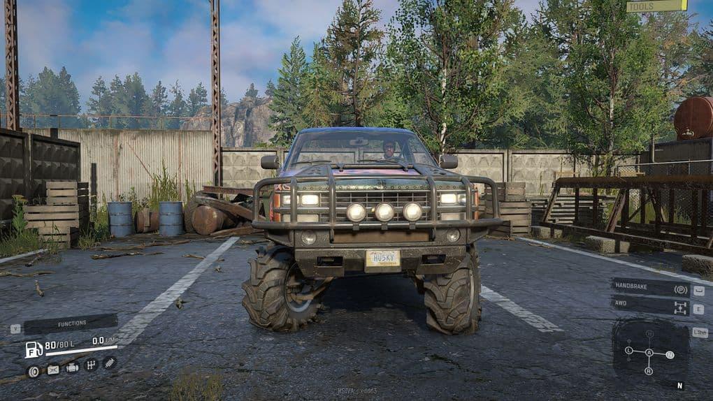 SnowRunner - Chevrolet CK1500 with Hummer H2 Engine Sounds V1.0