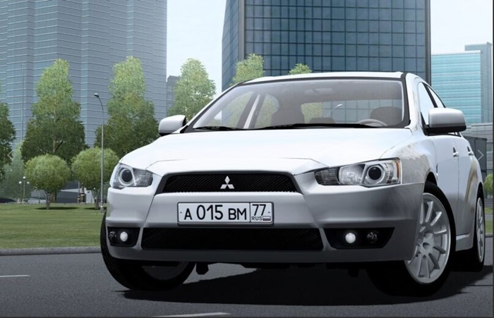City Car Driving 1.5.9 – Mitsubishi Lancer X 2008