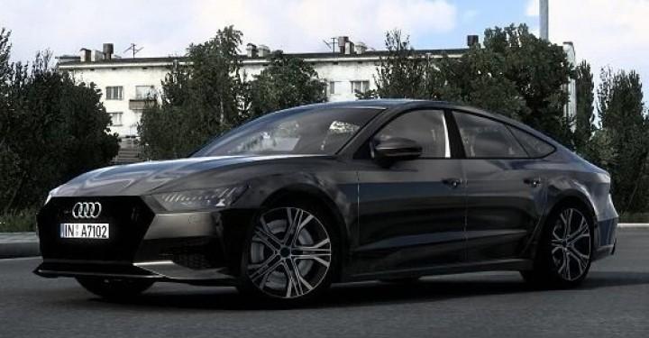 ETS2 - Audi A7 Sportback 2018 V2.0 (1.40.x)