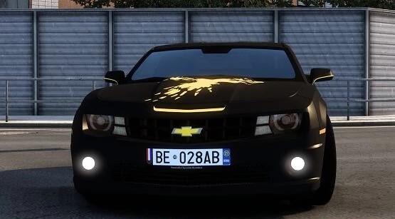 ETS2 - 2012 Chevrolet Camaro ZL1 V3.0 (1.40.x)