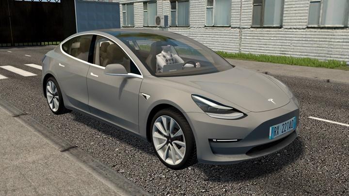 City Car Driving 1.5.9 - Tesla Model 3 2018