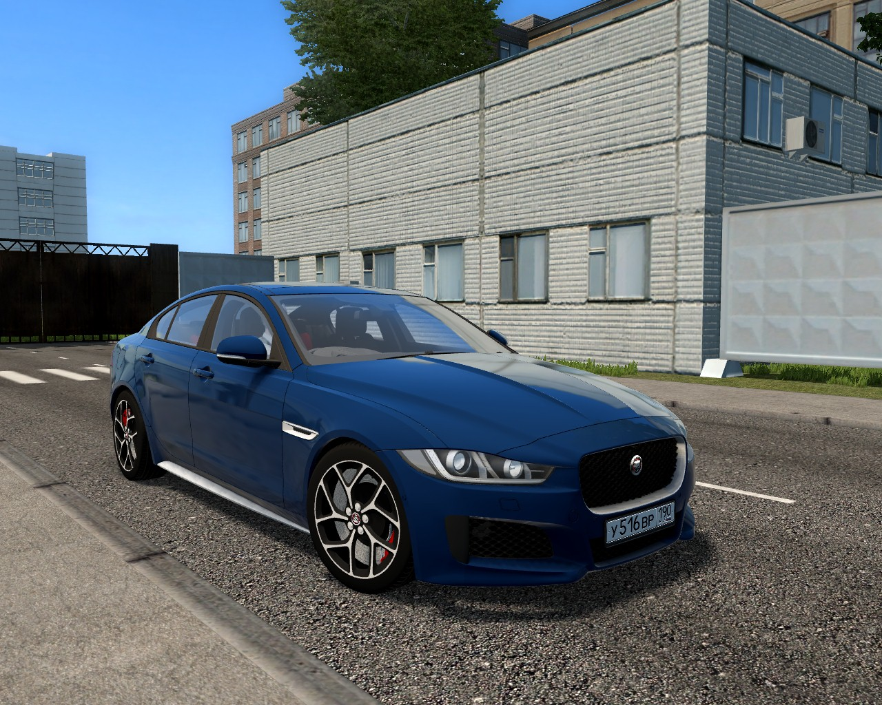 City Car Driving 1.5.8 - Jaguar XE 2015