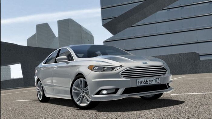 City Car Driving 1.5.9 – Ford Fusion 2017