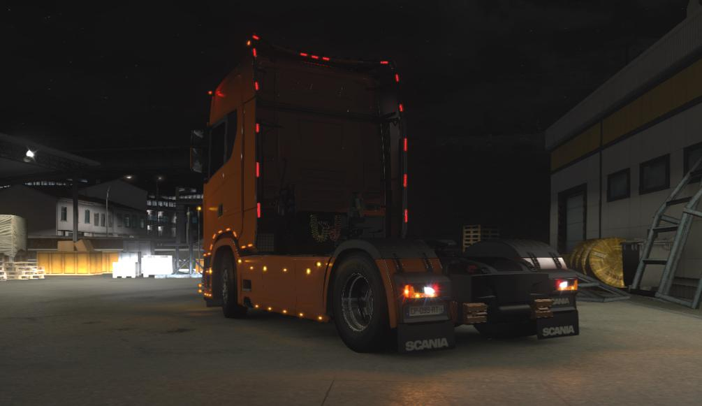 ETS2 - Mega Slot Pack for Scania S Next Gen (1.39.x)