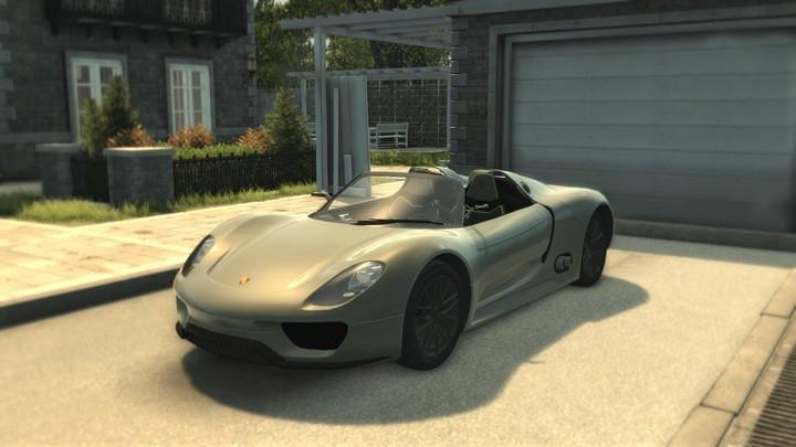 Mafia 2 – Porsche 918 Spyder Concept